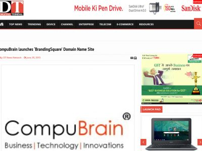 CompuBrain launches 'BrandingSquare' Domain Name Site | Digital Terminal