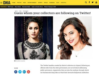 Guess whom your collectors are following on Twitter! | DNA India