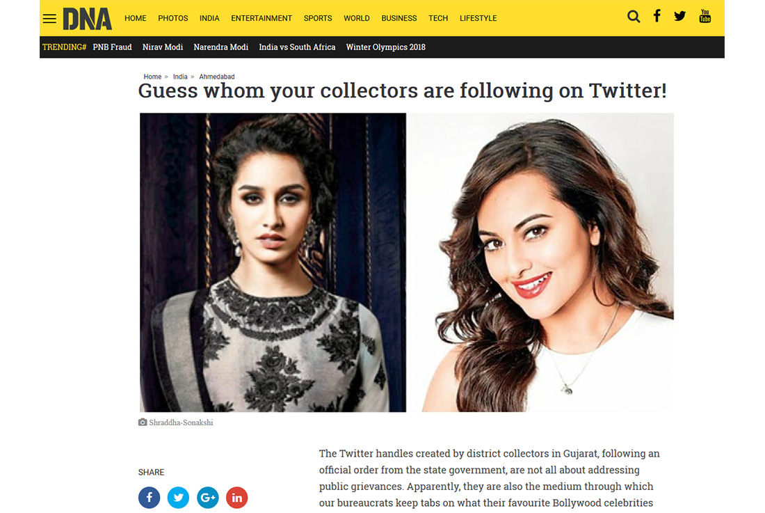 Guess whom your collectors are following on Twitter!