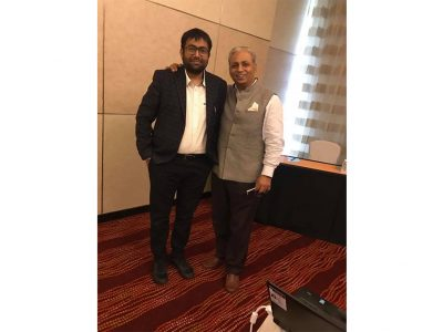Had a brief interactive session with  C P Gurnani(Chairman, NASSCOM) on what is next with #CompuBrain
