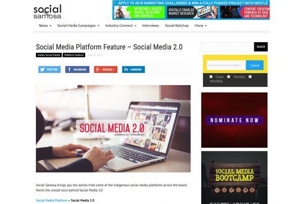 Social Media Platform Feature – Social Media 2.0
