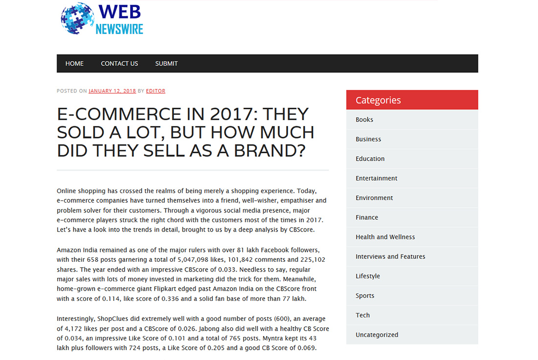 E-Commerce In 2017: They Sold A Lot, But How Much Did They Sell As A Brand?