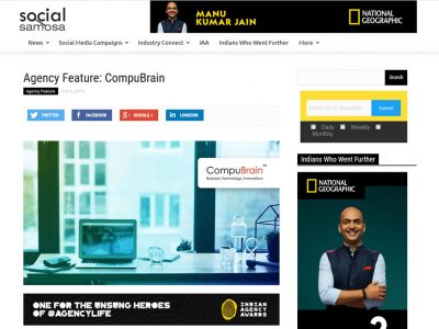 Agency Feature: CompuBrain - Social Samosa
